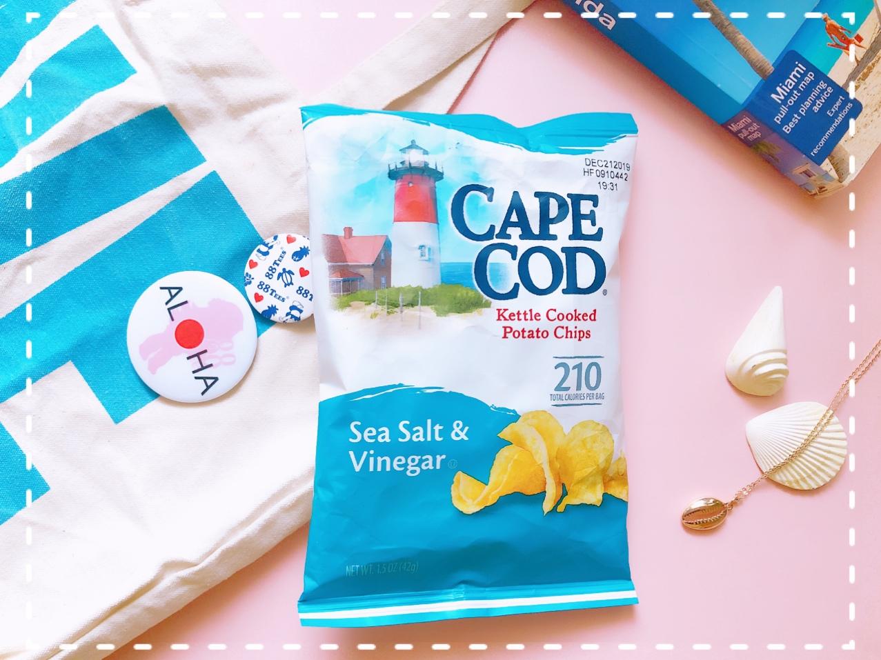 Boston(ボストン)なら「Cape Cod Chips(ケープコッドチップス)」ポテトチップスを。