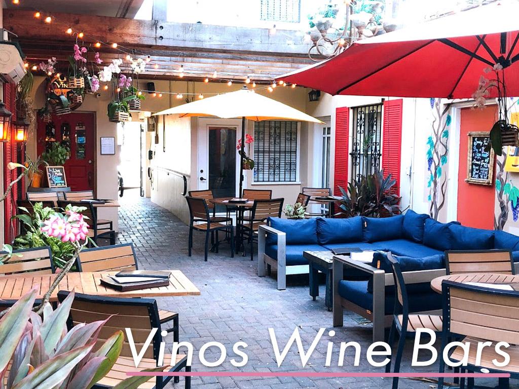 路地裏のワインバル「Vinos Wine Bars」のクスッと笑える素敵な口実