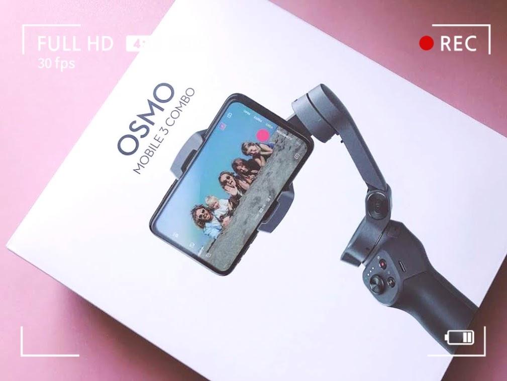 「ジェスチャー認識」で撮影したい!by DJI OSMO mobile 3コンボ