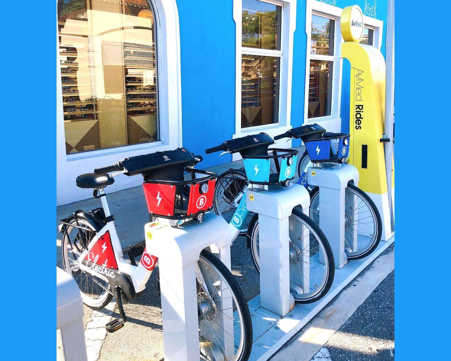 メンバーになると30分FREEライド付【AvMed Rides】南フロリダのレンタル自転車サービス