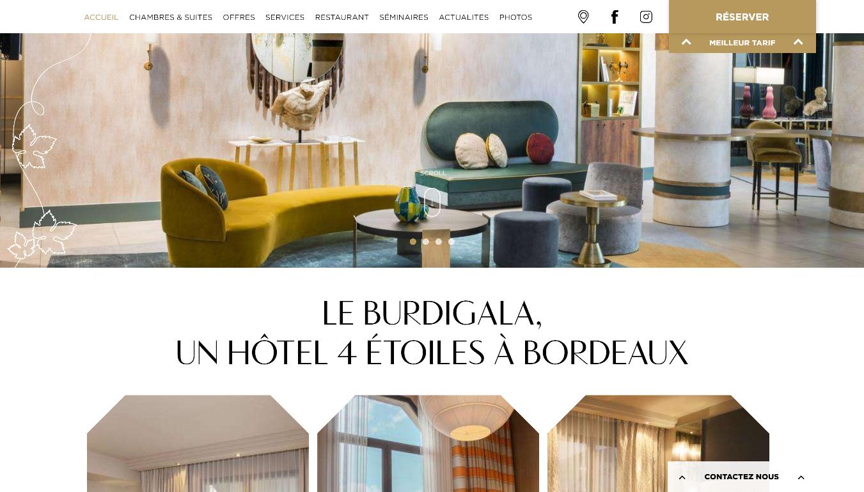 仏・ボルドーの宿泊してみたいホテル Lu Burdigala(ル ブルディガラ)vol.2