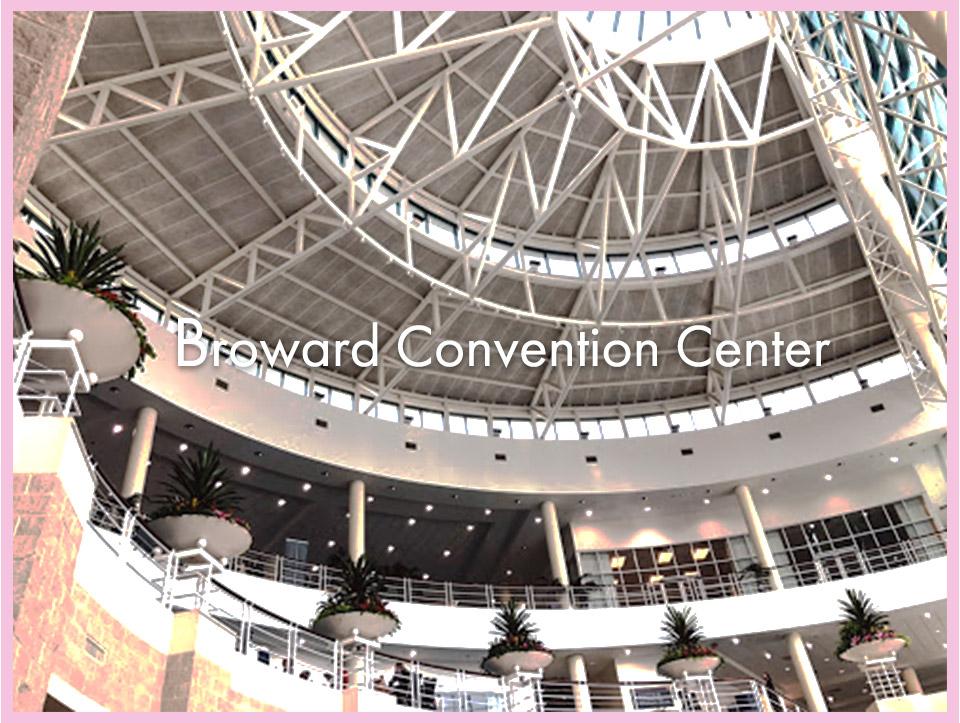 Broward County Convention CenterとWorld Trade Center Las Vegas