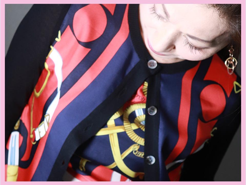 新規事業Herite(エリテ)にエール♡ブランドスカーフをリメイクしてニットにするサスティナブル発想が好き