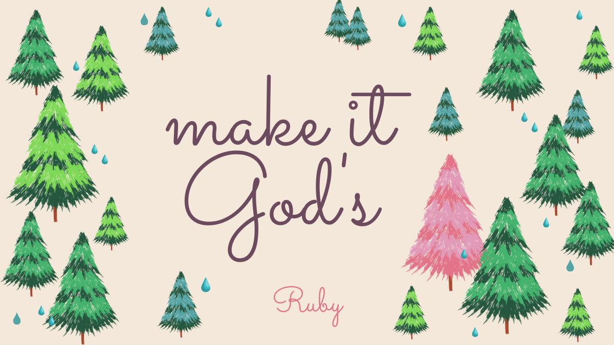 【make it God's】自由がやってくる?!正しい行動を