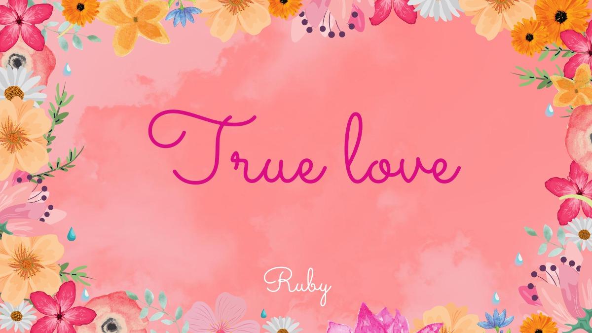 【True Love】を手に入れて人生はもっとカラフルに
