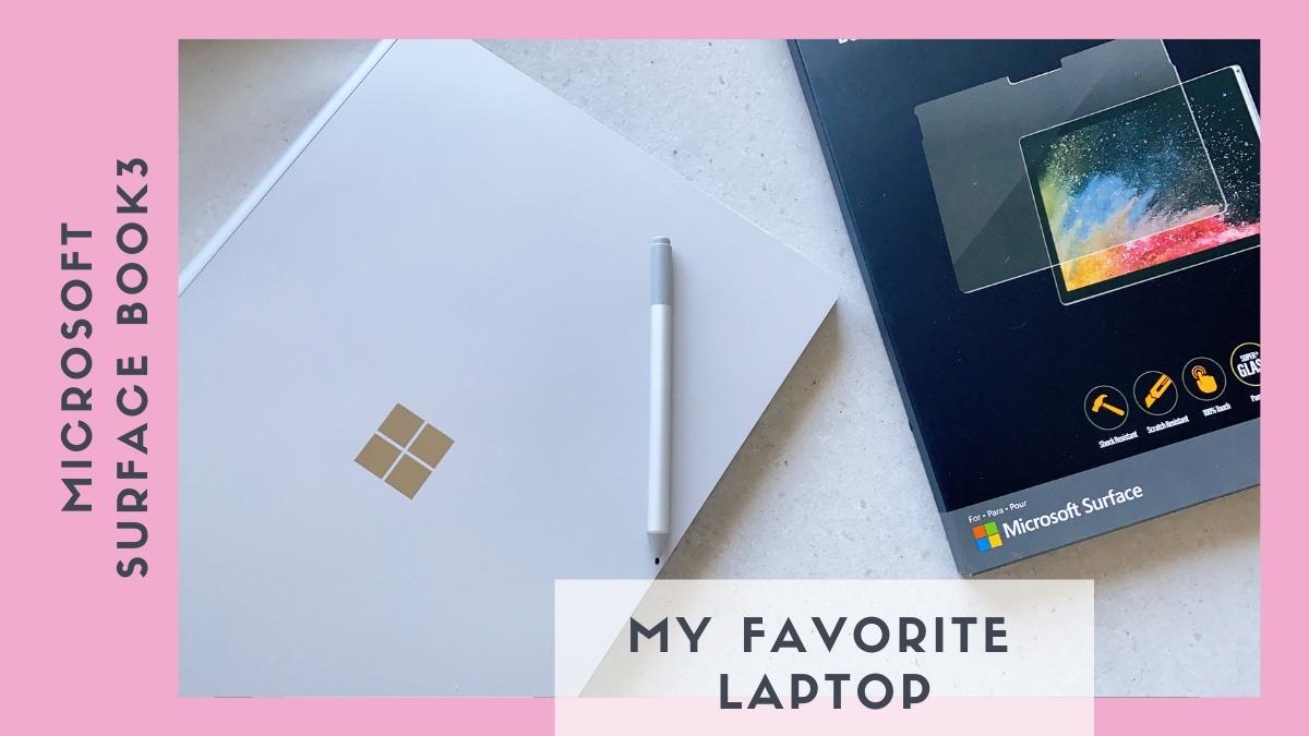 次世代のパフォーマンスに期待して購入【Surface book 3|サーフェス ブックスリー】15インチは仕事も遊びも楽しくなる♡